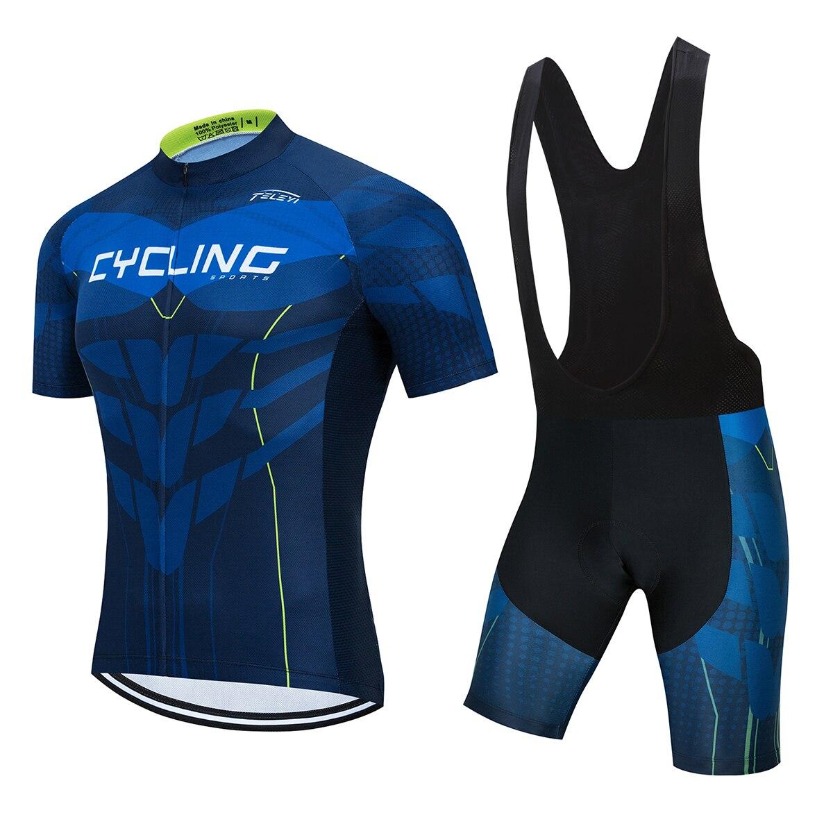 ProTeam Джерси велосипед комплект Мужчины Велоспорт одежда для верховой езды Летняя униформа с короткими рукавами Велоспорт шоссейные велоси...