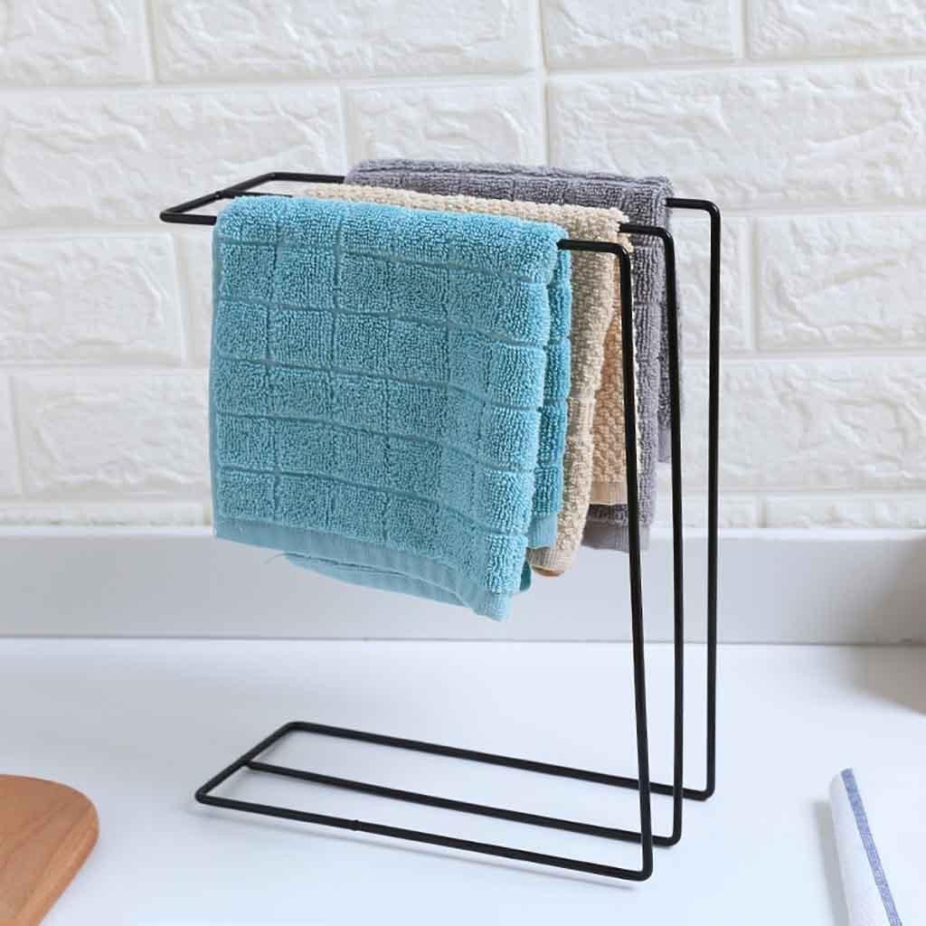 Küche Waschbecken Folding Waschen Handtuch Trocknen Rack Lappen Abtropffläche Halter Geschirrtuch Lagerung Rack Hängen Rack Ablauf Organizer Rack # Y20