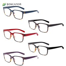 Reading-Glasses Eye-Protection... Ultra-Light-Design Anti-Blue Women And BONCAMOR Perfect