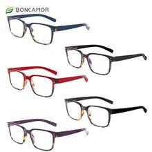 Очки для чтения boncamor квадратные с защитой от синего света