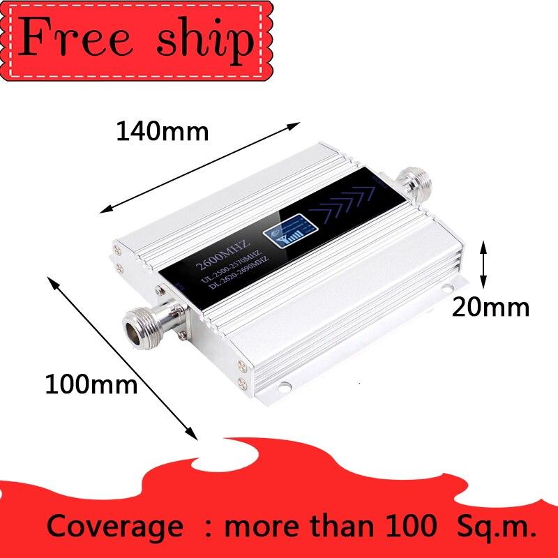2600mhz bande 7 amplificateur de signal cellulaire 2600mhz 4G LTE amplificateur de réseau mobile 4G 2600 amplificateur de répéteur de téléphone cellulaire 2600 gsm - 2