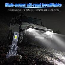 2x Car LED Headlight Bulb Fog Light H11 9006 HB4 9005 HB3 H4 H7 H8 H1 for toyota land cruiser 100 fj wish tundra camry 40 verso