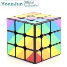 YongJun Scalene Unequal 3x3x3 Magic Cube YJ 3x3 Professional Neo Speed Puzzle Antistress Educational Toys For Children yongjun diamond symbol 3x3x3 magic cube yj 3x3 professional neo speed puzzle antistress fidget educational toys for children