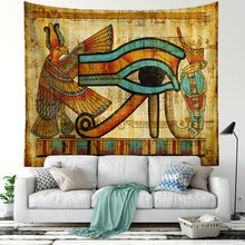 Abstract Art Tapestry Wall Hanging Egypt Style Mandala World architecture Towel Yoga Mat Table Cloth Decor