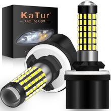Katur 2pcs H27W/1 880 Led Bulbs Fog Lights for Cars Led Fog Driving Lamp 78SMD 3014 Car Light Sourse 6000K White H27W1 H27 Led