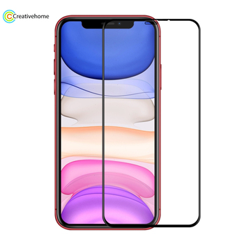 For iPhone 11 / iPhone XR ENKAY Hat-Prince 0.26mm 9H 6D Curved Full Screen Tempered Glass Film
