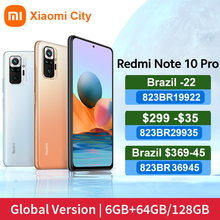 Xiaomi Redmi Note 10 Pro 6GB 8GB 64GB 128GB 108mp quad camera Snapdragon 732G 6.67