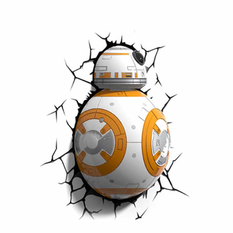 Disney Star Wars Millennium Falcon 3D dekorasyon duvar lambası avrupa tarzı çalışma yatak odası yaratıcı armatür X4857