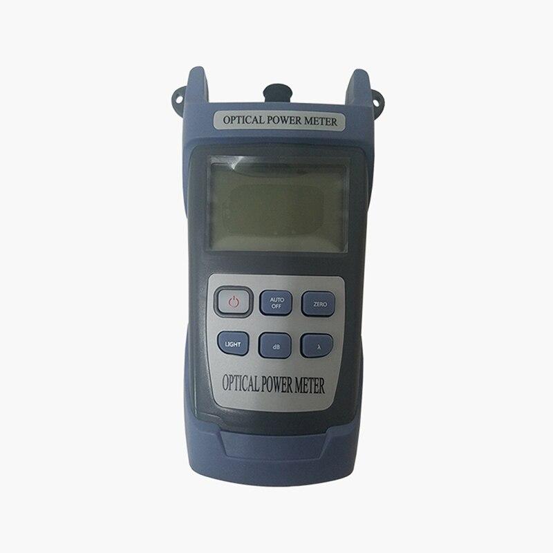Nieuwe Handle Optical Power Meter -70 ~ + 10dBm Sc/Fc Connector, Ftth Fiber Optische Kabel Tester 1