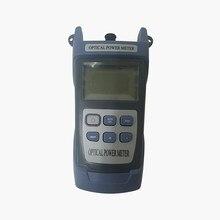 Новый Ручной Измеритель оптической мощности-70 ~ + 10 дБм разъем SC/FC, тестер оптоволоконного кабеля FTTH