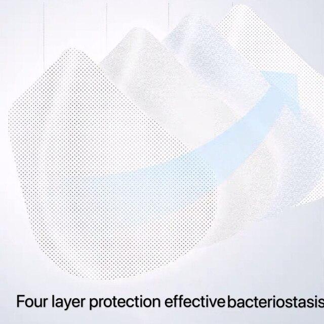 N95 mask mask KN95 Anti fog smog  Virus flu Dust Formaldehyde Fog Gas Bacteria proof PM2.5 mouth mask 5
