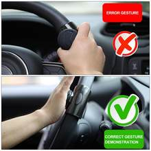 Car Steering Wheel Booster Ball Car Universal Steering Wheel Steering Booster Silicone Car Auxiliary Ball Auto Spinner Knob(China)