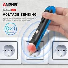 Nicht-kontaktieren induktion test bleistift AC110V 220V Voltmeter Spannung Sonde Volt Meter Elektrische Anzeige Power Detector Tester Buchse