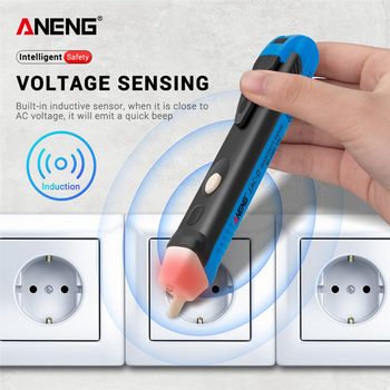 non contact induction test pencil ac110v 220v voltmeter voltage probe volt meter electric indicator power