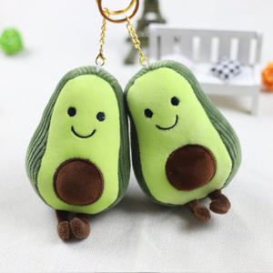 Plush-Toys Stuffed-Doll Avocado Christmas-Decor Gift Girls Kids Children Cartoon Cute