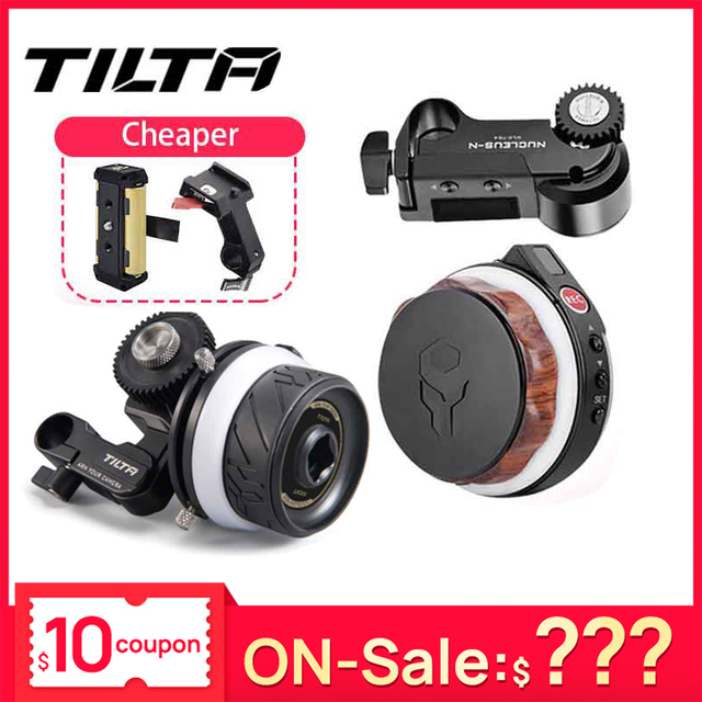 Tilta Nucleus N Nano FF T06 Wireless Follow Focus Motor Hand Wheel Control for Gimbal G2X DJI Ronin S Zhiyun Crane 2 WLC T04