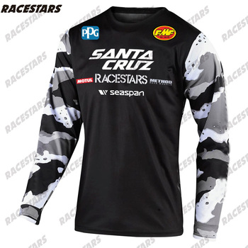 SANTA CRUZ Cycling Jersey Long Sleeve MTB Ciclismo Hombre Quick-Dry Bike DH Shirt Breathable Motocross Downhill Mountain Jersey 2020 quick dry custom cycling jersey fishing jersey quick dry fishing long sleeve motocross cycling clothing downhill jersey