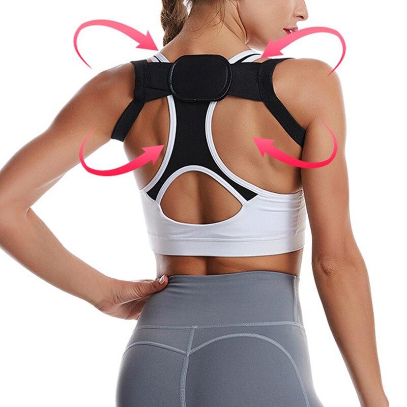Loozykit 2020 Women Men Posture Corrector For Women Men Invisible Kyphosis Brace Scoliosis Back  Correction Belt