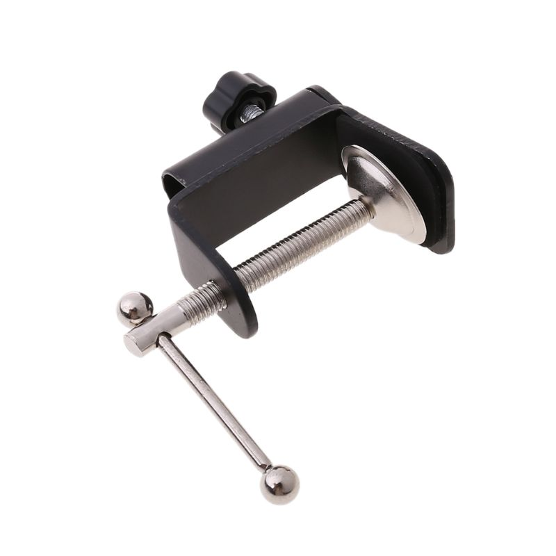 2021 New Aluminum Alloy Iron Cantilever Bracket Clamp for Mic Stand Table Lamp Desk Clip