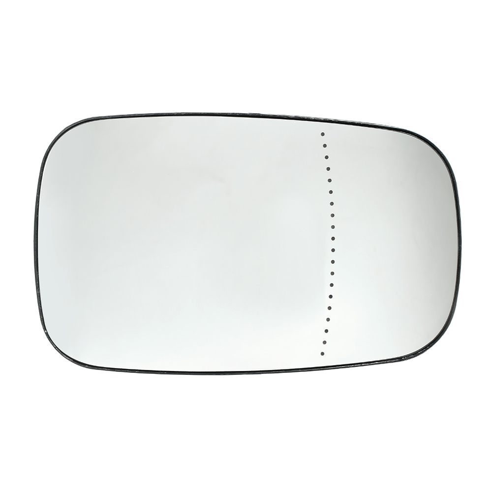 Left Passenger Near Side Heated Wing Door Mirror Glass for PEUGEOT 807 2002 on