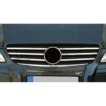 Grill Strips Chrome  for Vito W639 2003-2010's molding trim Chrome bold stainless steel trim Chrome front