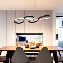 Apextech Art Deco LED Pendant Lamp Dining Room Hanging Lights Modern Creative Droplight Home Coffee Bar Restaurant Lighting