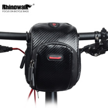 RHINOWALK Waterproof Bike Bag Large Capacity Handlebar Front Tube Bag Bicycle Pocket Shoulder Backpack Cycling Bike Accessories цена 2017