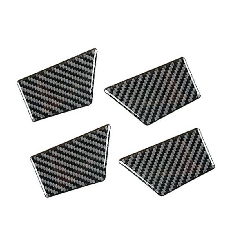 For Ford Fusion Mondeo 13-19 Carbon Fiber Style Inner Door Bowl Cover Trim
