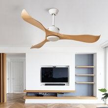 Современные скандинавские простые потолочные вентиляторы без