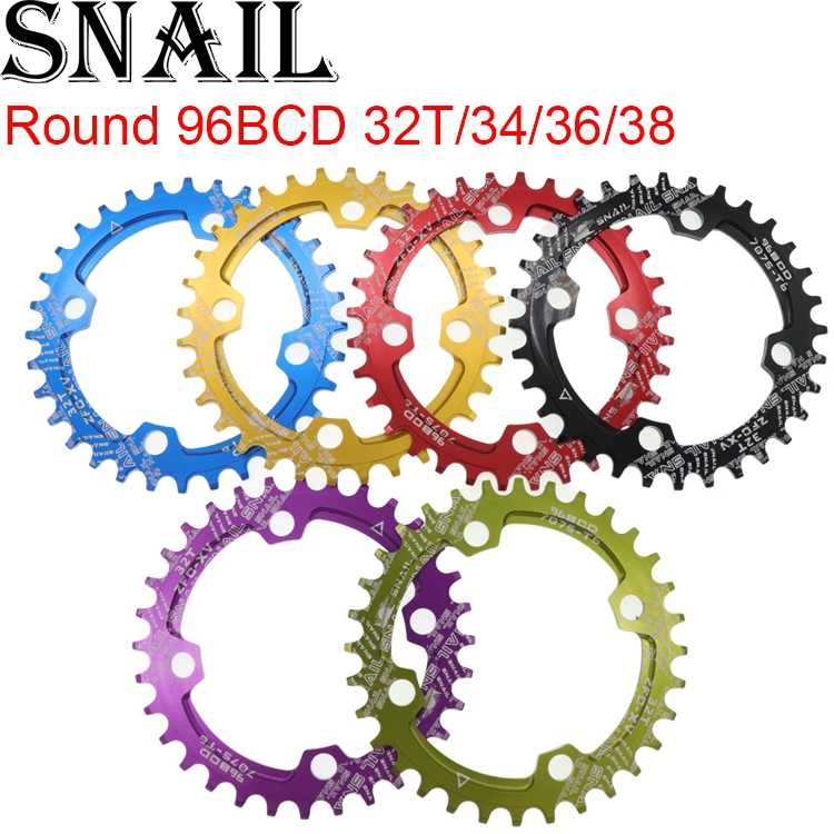 94+96BCD Chainring MTB Single Speed Chainwheel 32T 34T 36T 38T Bike Road Bicycle