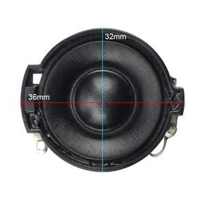 Image 2 - GHXAMP 32MM משי סרט טרבל רמקול מיני רמקול הטוויטר קונוס אגן Neodymium הכפול מגנטי 8 אוהם 10W 2 pcs