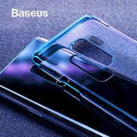 Caso Baseus Per Samsung Galaxy S9 di Lusso di Placcatura Custodia In Plastica Dura Per Samsung Galaxy S9 S9 Plus Ultra Sottile E Trasparente coque