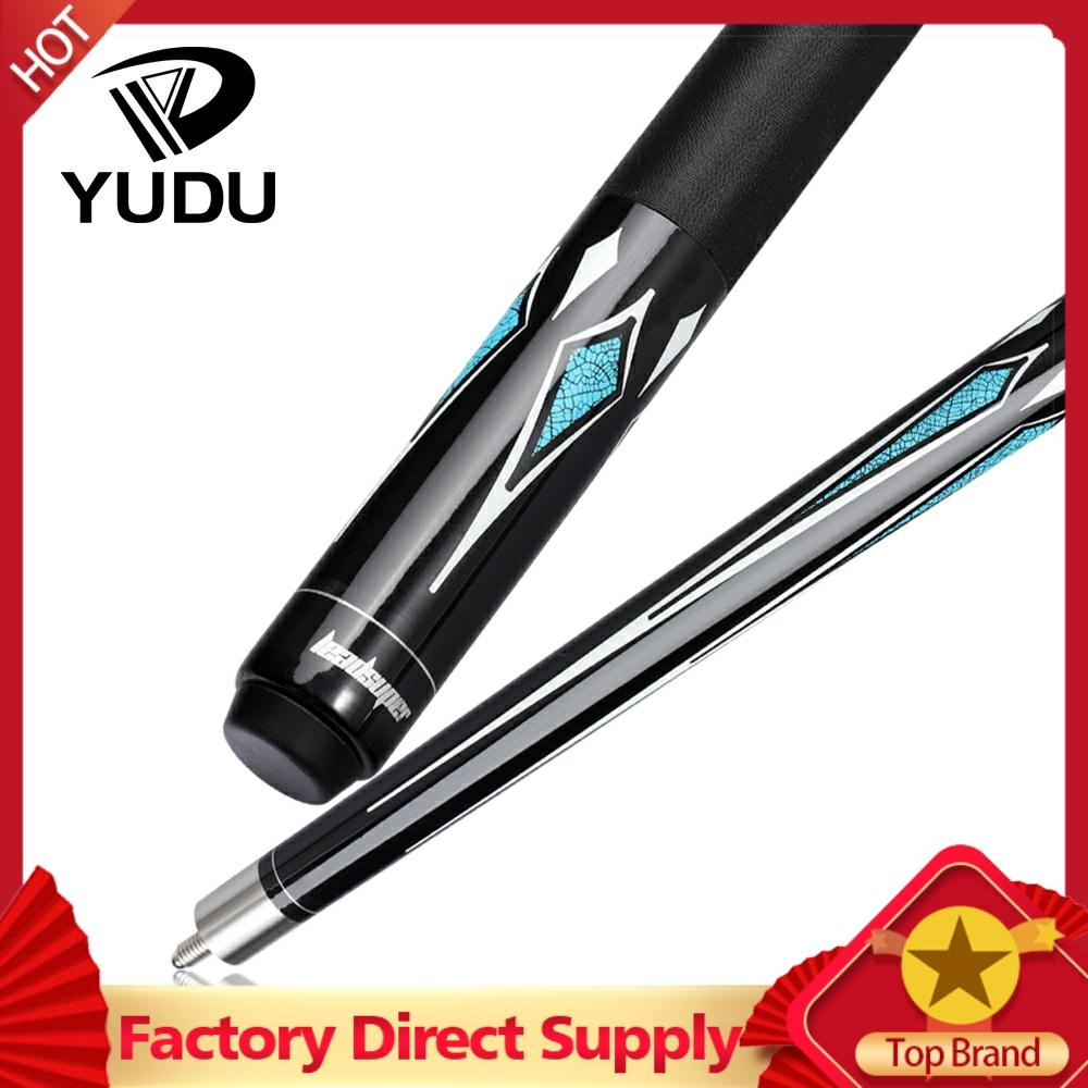 YUDU HW-1 Billiard Pool Cue Stick Kit 13mm Tips Professional High Quality Maple Billar Cue Black 8 Nine Ball China 2019