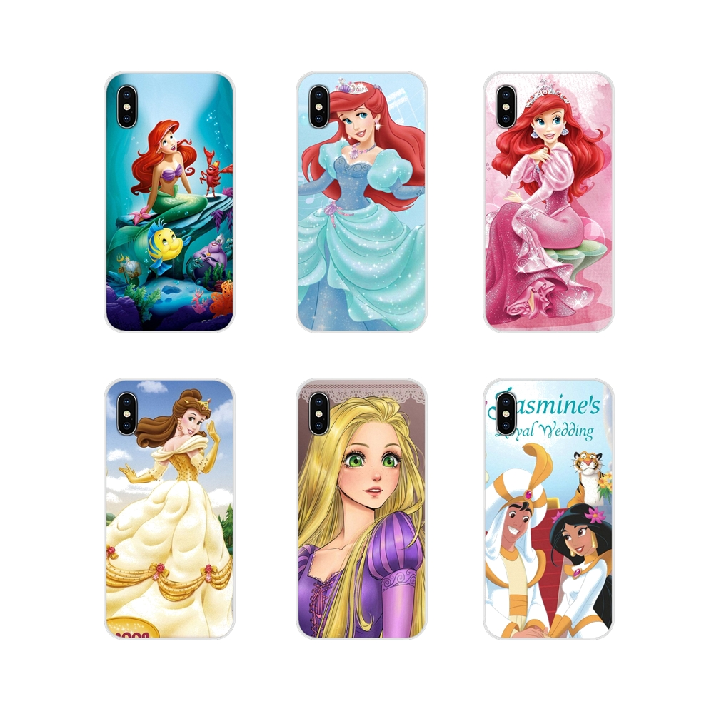 Accessories Phone Cases Covers For Motorola Moto X4 E4 E5 G5 G5S G6 Z Z2 Z3 G G2 G3 C Play Plus Tatooed Punk Princess Ariel