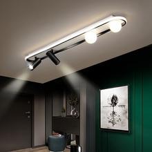 Nuevo moderno araña de techo LED para sala de estar dormitorio cama pasillo balcón entrada lámpara LED con foco