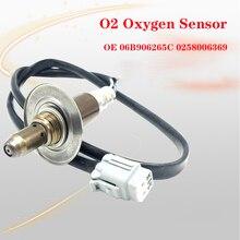 O2 Oxygen Sensor Fit For Audi A4 Sedan Wagon AVV Engine 1.8 1995-2001 06B906265C 0258006369 7481564 Lambda Probe Lambda Sensor new oxygen sensor o2 lambda oxygen sensor 39210 23750 3921023750 for korean car