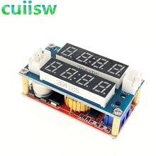 Módulo de carga 2 em 1 xl4015 5a, voltímetro amperímetro cc/cv ajustável tensão constante da corrente