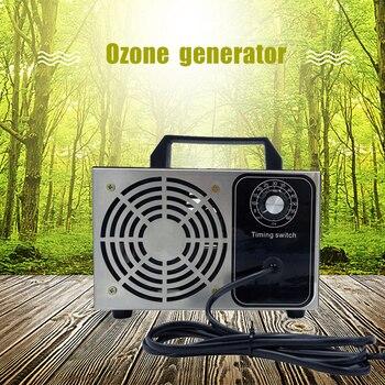 24 G/H 220V Generator ozonu maszyna filtr powietrza oczyszczacz wentylator dla domu samochodów formaldehyd wyłącznik czasowy ue wtyczka generador de ozono