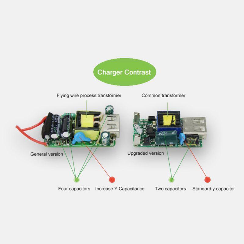 Nuevo Color blanco UE enchufe adaptador de corriente cargador USB cargador Universal de pared de teléfono 5A cabeza de carga sin Cable para IPhone Huawei - 6