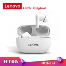 Lenovo HT05 Wireless Bluetooth Earbuds TWS White Headphones IPX5 Waterproof Earphone Noise Reduction Headset