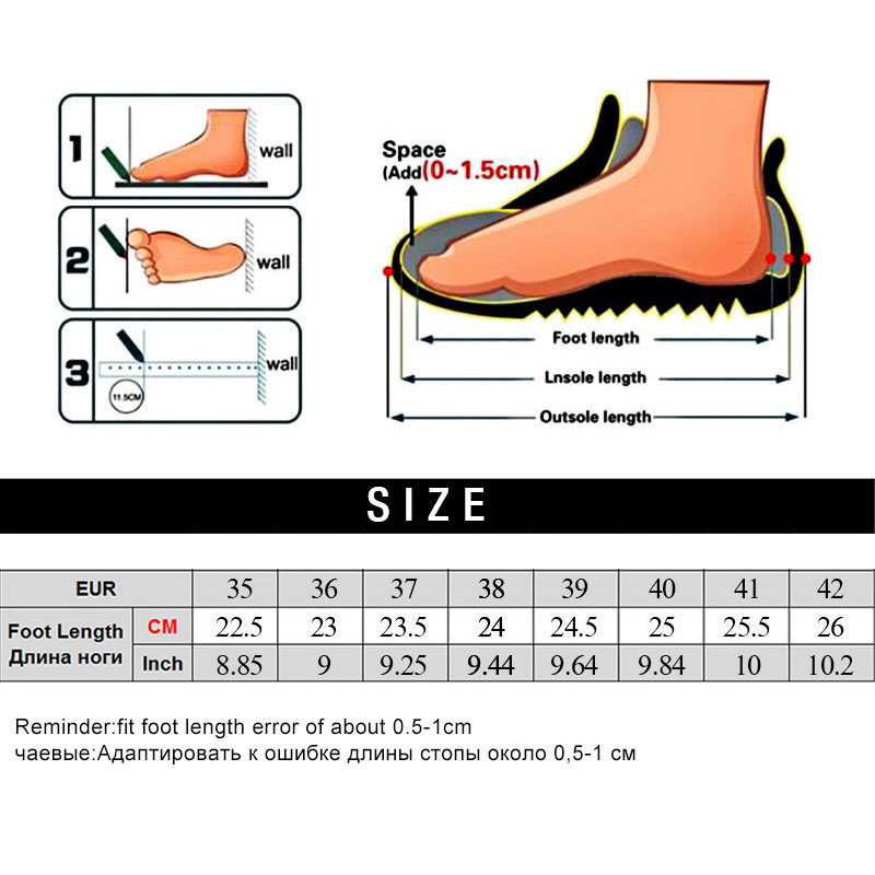 Image 5 - MWY Wedges Shoes For Women Yellow Sneakers Comfort Ladies Trainers Women Casual Shoes Platform Shoes Plus Size Chaussures Femme-in Women's Vulcanize Shoes from Shoes