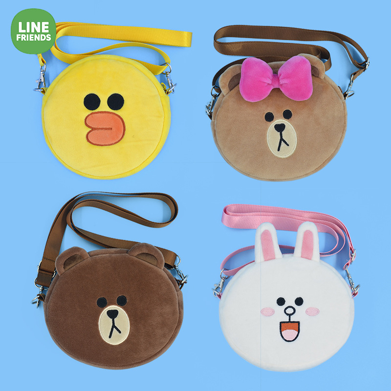Changyi New Products Line Friends Shoulder Bag Brown Bear Shoulder Bag Adult