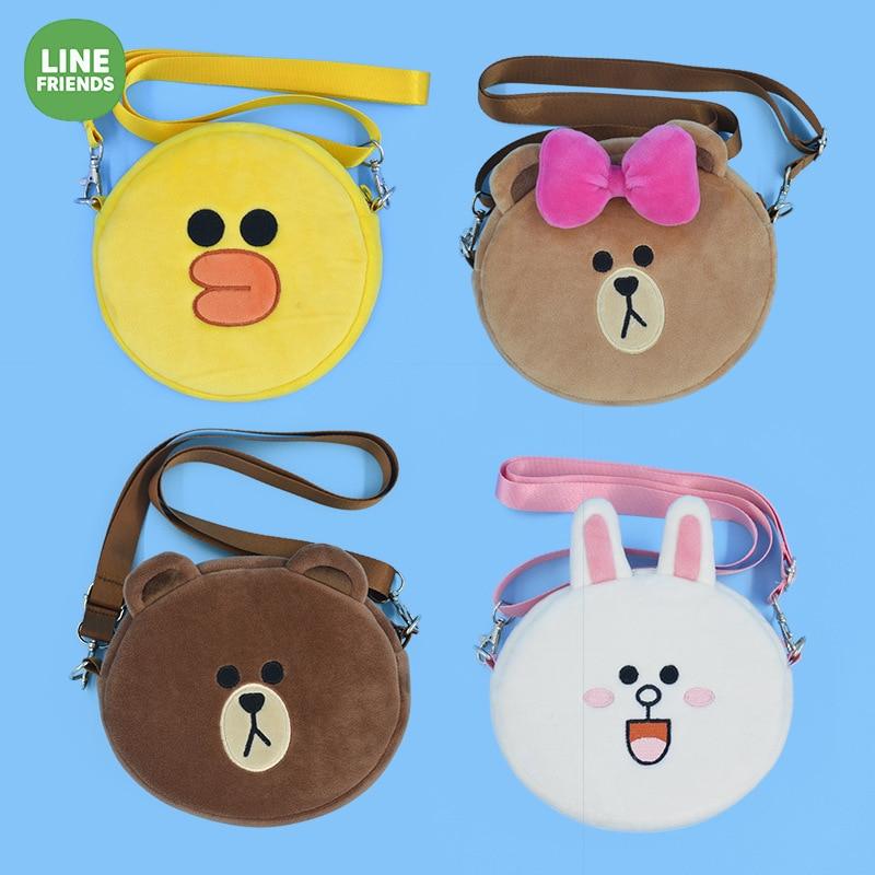 Changyi New Products Line Friends Shoulder Bag Brown Bear Shoulder Bag Adult