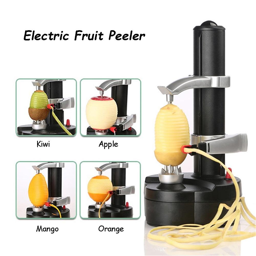 Electric Spiral Apple Peeler Potato Zester for Fruit and Vegetable Peeling Machine Grater Slicer Kitchen Tool gadget Accessories