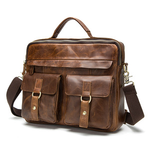 Brand Genuine Leather men's ba