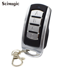 Garage door remote control clone 433mhz gate control rolling fixed code garage command barrier remote transmitter 2019 New(China)