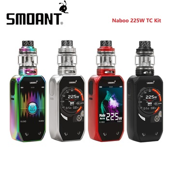 Original Smoant Naboo 225W TC Kit with 4ml/2ml Naboo Tank & Updated Ant225 Chipset & 2+1 UI Options E-cig Kit Vs Drag 2 / Shogun
