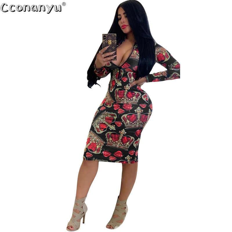 Rose Floral Print Women V Neck Sleeveless Bodycon Mini Dress Summer Party Dress