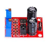 Ne555 نبض التردد واجب دورة قابل للتعديل وحدة ساحة الموجة مستطيلة موجة إشارة مولد محرك متدرج محرك|التشغيل الآلي للمبنى|الأمن والحماية -