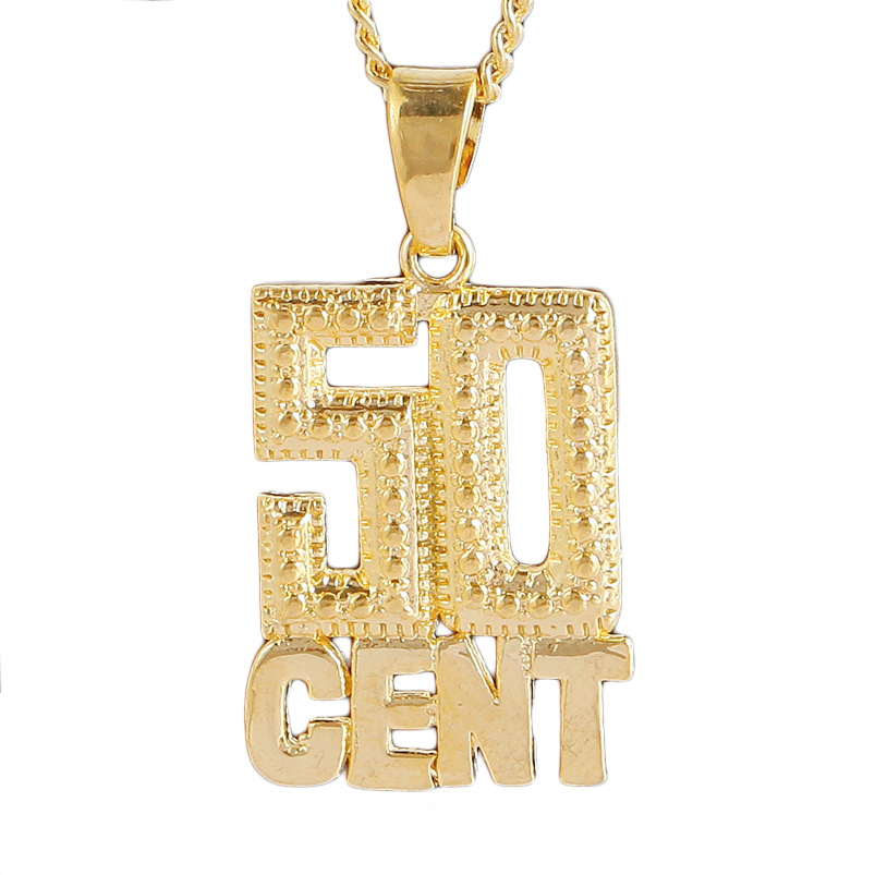 50 Cent Choker Pendent Necklace 10